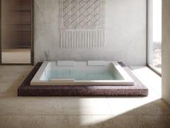 Vasca da bagno centro stanza idromassaggio rettangolareSHARP EXTRA - JACUZZI® EUROPE