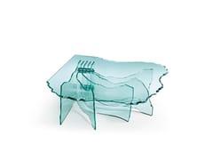Tavolino basso in vetroSHELL   Tavolino - FIAM ITALIA