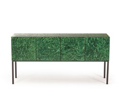 Credenza in OSB con ante a battente SHERWOOD | Madia - ARKOF LABODESIGN