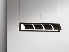 Lampada a sospensione a luce indiretta in metalloSHIELD | Lampada a sospensione - GIORGETTI