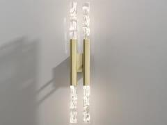 Lampada da parete a LED in metalloSHINE PLUMAGE AP - OLEV