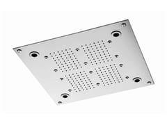 Soffione doccia a pioggia cromato in acciaio inox SHOWER | Soffione doccia in acciaio inox - Shower