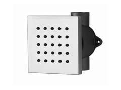 Soffione laterale da incasso con sistema anticalcare SHOWER | Soffione laterale da incasso - Shower