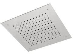 Soffione doccia a soffitto da incasso in acciaio inox SHOWERS STEEL - 8572418 - ShowersSteel