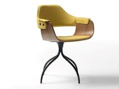 Sedia girevole imbottita con braccioliSHOWTIME | Sedia girevole - BD BARCELONA DESIGN