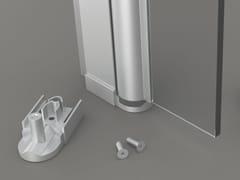 GH ITALY, SHP01 Cerniera per box doccia in alluminio anodizzato