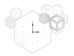 Orologio in MDF da pareteSI-310 | Orologio - L.A.S