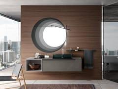 Mobile lavabo sospeso con specchioSIDE 01 - ARCHEDA