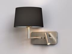 Lampada da lettura a LED in metallo con USBSIDE BY SIDE GRANDE USB - ASTRO LIGHTING