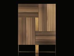 Credenza in legno massello con ante a battenteSIDE-L - H-07