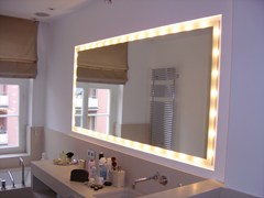 Top Light, SIDELIGHT Specchio con illuminazione integrata