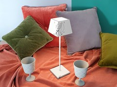 Lampada da tavolo per esterno in alluminio pressofuso senza filiSIESTA LIMITED EDITION - ROSSINI ILLUMINAZIONE