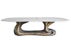 Tavolo da salotto in marmo SIGMA K1104 -