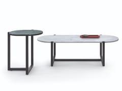 Tavolino ovale in marmoSIGMUND | Tavolino - ARFLEX