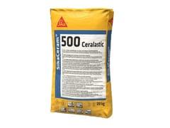 SIKA ITALIA, SIKACERAM®-500 CERALASTIC Impermeabilizzante cementizio rapido monocomponente