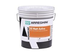 Pittura per esterno acril-silossanica antimuffa antialgaSIL MATT ACTIVE - CAP ARREGHINI