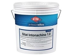 Rivestimento acrilsilossanico a spessore antialga con aspetto di intonachinoSILAT INTONACHINO 1.5 - ATTIVA