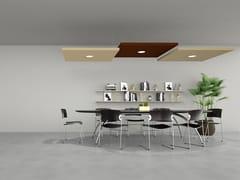 Pannello fonoassorbente a soffittoSILENTE | Pannello acustico a sospensione - CARUSO ACOUSTIC BY LAMM