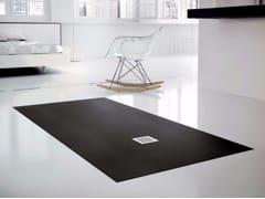 Fiora, SILEX EXTRAPIANO Piatto doccia antiscivolo filo pavimento in Silexpol® su misura