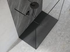Piatto doccia antiscivolo in Silexpol®SILEX WORLD - FIORA