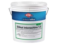 Rivestimento murale antialga a spessore con aspetto di intonachino a base silicato di potassioSILIKAT INTONACHINO 1.5 - BOERO BARTOLOMEO