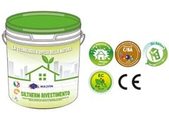 Rivestimento minerale antialga acril-silossanicoSILTHERM RIVESTIMENTO - MALVIN