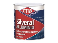 Pittura protettiva in alluminio. Alte temperatureSILVERAL CALORE - ATTIVA