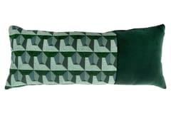 Cuscino a motivi in cotone in stile moderno per divani per lettiniSIMPLE 474-19 - L'OPIFICIO