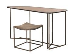 Set scrivania + sgabello in metalloSIMPLE - SHAKE
