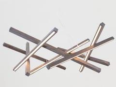 Lampada a sospensione a LED in legnoSIMPLICITY - NEXT LEVEL DESIGN STUDIO