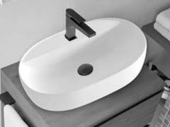 Lavabo ovale in ceramicaSINDY | Lavabo ovale - BLOB