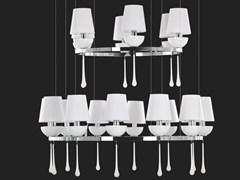 Lampada a sospensione a luce indiretta in metalloSINFONIA | Lampada a sospensione - AIARDINI ILLUMINAZIONE