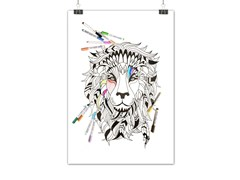 Lavagnetta magnetica SIOUX LION - Whiteboard