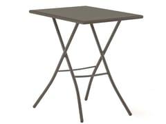 Tavolo da giardino pieghevole rettangolare SIRIO 50x70 -