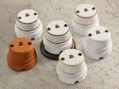 Presa elettrica singola in ceramicaSIRIO   Presa telefono - ALDO BERNARDI