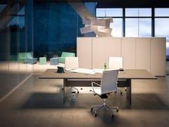 Tavolo da riunione con sistema passacaviSISTEMA 28 | Tavolo da riunione - FANTONI