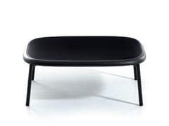 Tavolino basso quadrato in legnoSIT | Tavolino - BROSS ITALIA