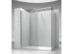VISMARAVETRO, SK-IN SK+SK Box doccia angolare su misura in cristallo
