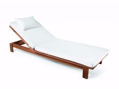 Lettino da giardino reclinabile in Sunbrella® SKANÖR   Lettino da giardino - Skanör