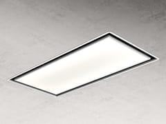 Cappa a soffitto con illuminazione integrataSKYDOME - ELICA