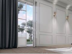 CARMINATI SERRAMENTI, SKYLINE CLASSIC Porta-finestra a battente in legno