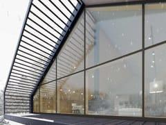 Sistema di facciata continua in legnoSKYLINE FACADE - CARMINATI SERRAMENTI