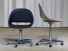 Sedia ufficio girevole in tessuto a 5 razzeSL58 | Sedia ufficio - BULO