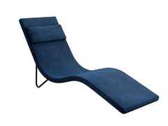 Chaise longue in tessutoSLALOM   Chaise longue in tessuto - TACCHINI ITALIA FORNITURE