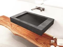 Lavabo sospeso in calcestruzzoSLANT 03 SINGLE - GRAVELLI