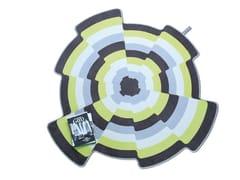 Tappeto in lana SLICES 001 - Home