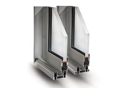 Fresia Alluminio, SLIDE 80/106 PLUS Finestra a taglio termico scorrevole in alluminio