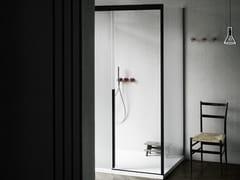 Boffi, SLIDING Box doccia rettangolare in vetro con porta scorrevole