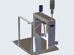 Tornello con soluzioni integrate di controllo anti-infezioniSLIMSTILE - GUNNEBO