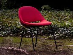 Sedia da giardino impilabile in tessutoSLL18   Sedia imbottita - BULO